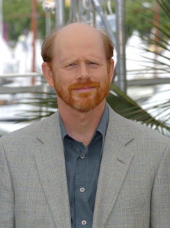Director/Side Hair enthusiast Ron Howard