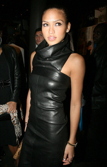 NEW YORK - JANUARY Cassie attends DJ Clue's Birthday Ball January 9, 2008 New York City, NY  (Photo by Johnny Nunez/WireImage)